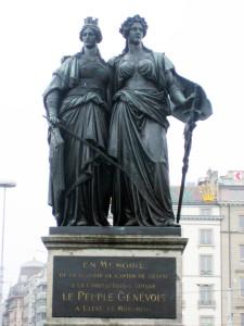 Geneva_CH_Statue